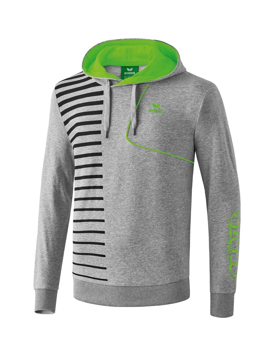 Graffic 5-C - Player 4.0 Sweater con cappuccio